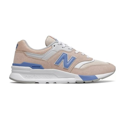 Commander New Balance CW997HVW rose / light blue chez Hype Sneakers & Streetwear.
