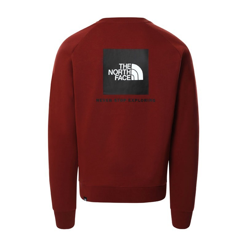 The North Face M Raglan Red Box Sweater  nf0a4sz9BDQ