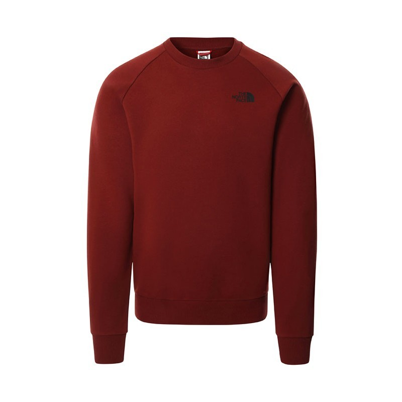 The North Face M Raglan Red Box Sweater  nf0a4sz9BDQ - Hype Streetwear & Sneakers