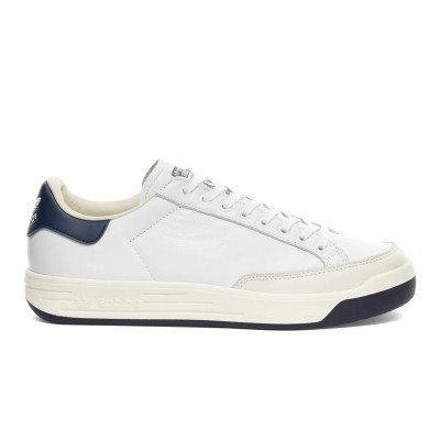 Commander Adidas Originals Rod Laver Cloud White / Collegiate Navy FX5606 chez Hype Sneakers & Streetwear.
