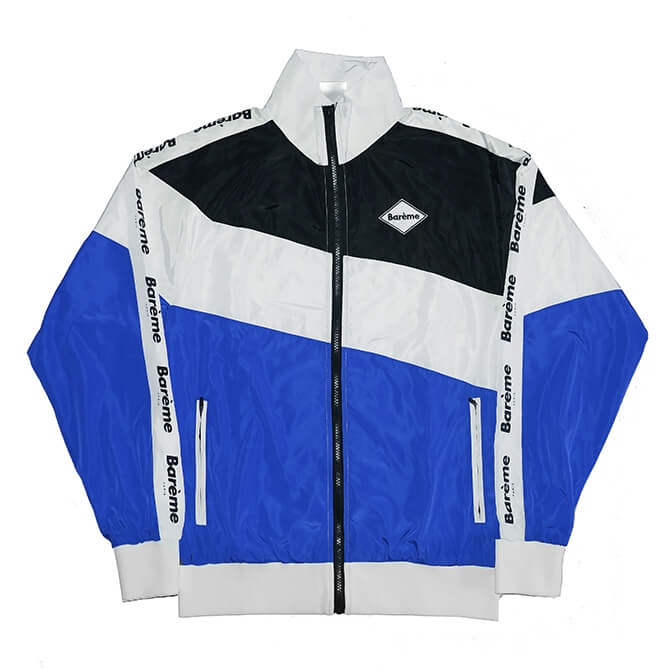 Barème Faleh Jacket Blue Black