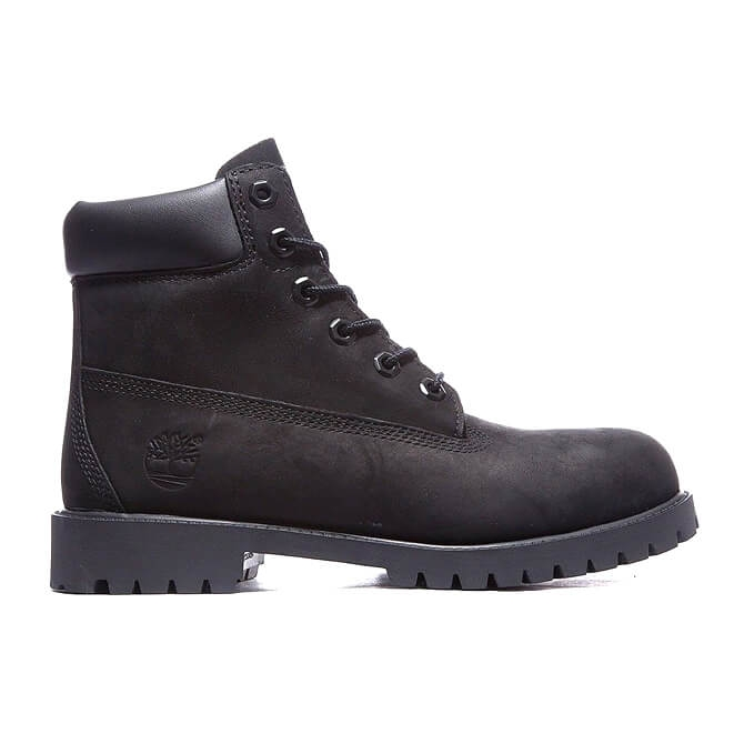 Timberland 12907 - 6 Inch Premium Black Waterproof Black