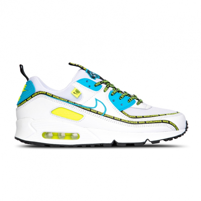 Nike Air Max 90 SE Blue Fury Black Volt CZ6419 100