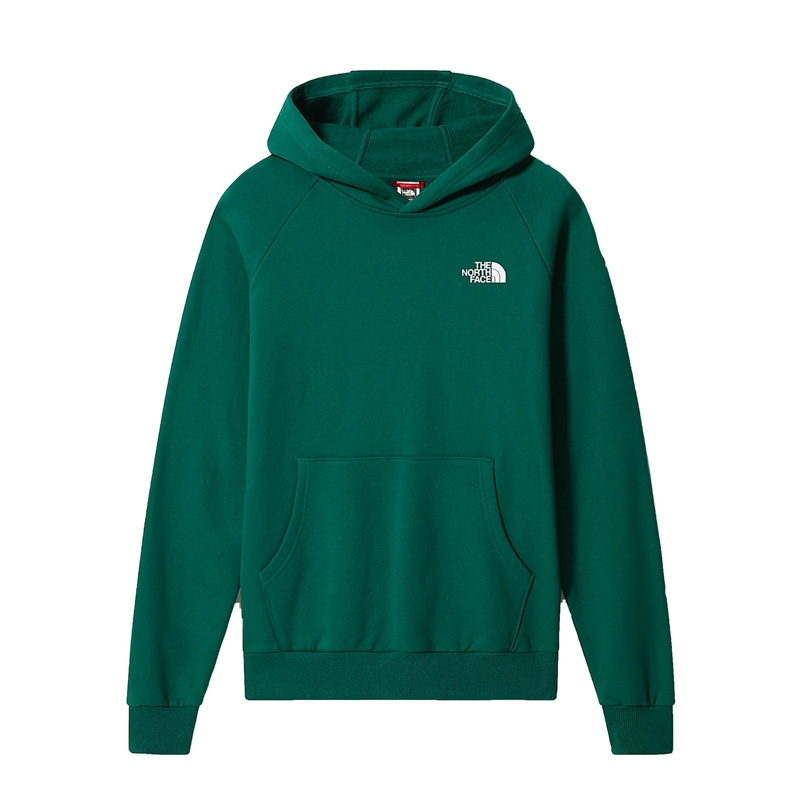 The North Face Raglan Red Box Hoodie nf0a2zwunl11