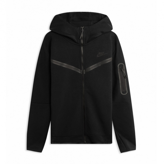 Nike Tech Fleece Hoodie - Black - CU4489-010