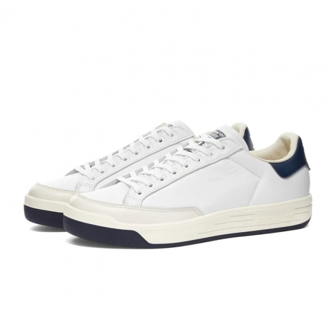 Adidas Originals Rod Laver Cloud White / Collegiate Navy FX5606