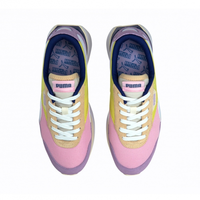 Puma Cruise Rider Silk Pink Lady Yellow Pear 375072-01