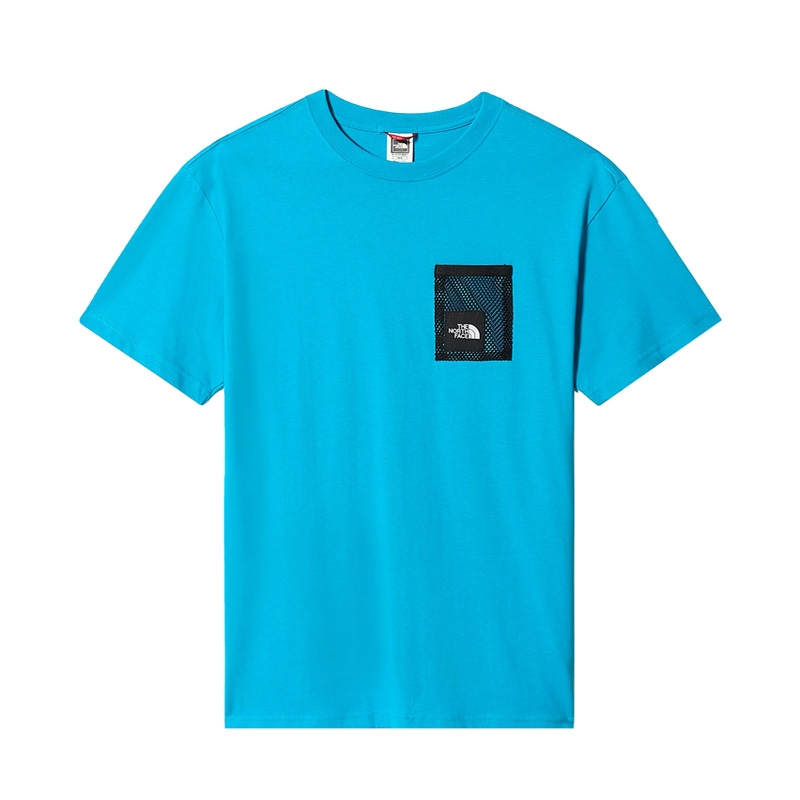 The North Face Black Box Cut Tee Meridian Blue NF0A557KD7R1