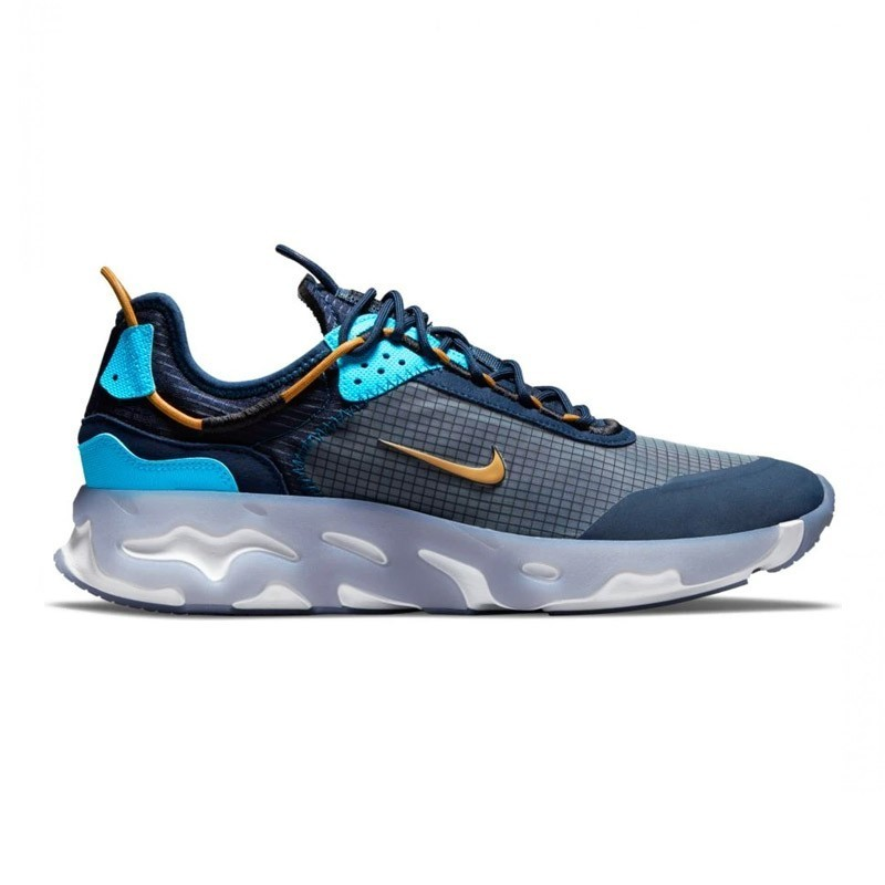 Nike React Live Midnight Navy Wheat Turquoise Blue CV1772-400 - Hype Streetwear & Sneakers